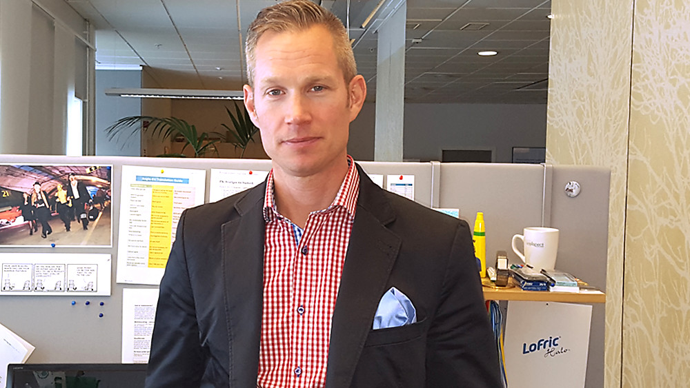 Wellspect About Photo of employee Bjorn Knutsson